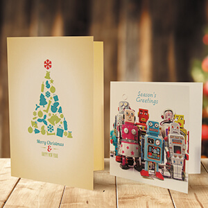 Print Personalised Christmas Cards