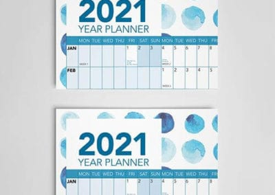 Print Year Planners